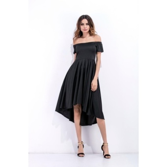 ZASHION European Dress | Shirts | Tops Collection (Black) - intl