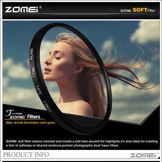 ZOMEI Máy Khuếch Tán Đặc Biệt Dreamy Hazy Soft Focus 52 55 58 62 67 72 77 82Mm, Ống Kính Lọc Chân Dung Dành Cho Máy Ảnh DSLR Gital SLR thumbnail