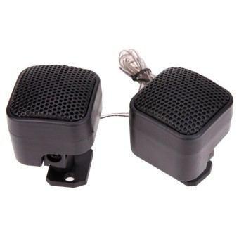 2pcs Universal Car High Efficiency Audio Loud Speaker Tweeter - intl