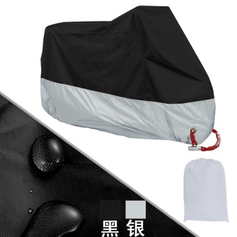 All Size Motorcycle Cover Waterproof Outdoor Uv Protector Bike Rain Dustproof Motorbike Motor Scooter M/L/XL/XXL/3XL/4XL A2123 - intl