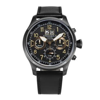 ARIES GOLD INSPIRE HURRICANE G 750 BK-GD MEN'S WATCH