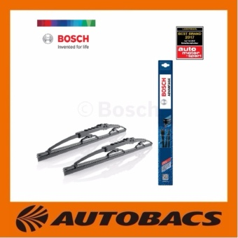 Bosch Advantage Wipers for Mazda 3(Yr13to17)(1 set)