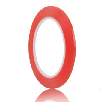 BU Red Double Side Fix Tape Adhesive Sticky Glue for Phone