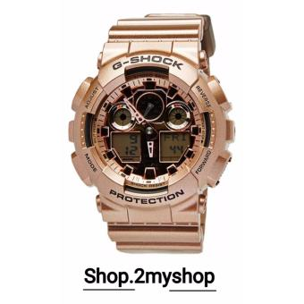 G SHOCK ROSE GOLD LIMITED EDITION GA-100GD-9A
