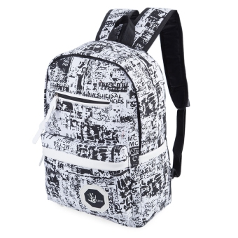 Harga Trendy Ladder Lock Zipper Portable Travel School Bag Backpack