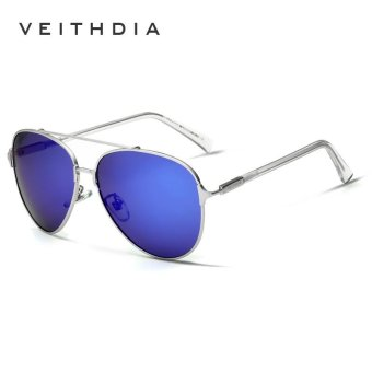 Harga VEITHDIA Brand Fashion Men's Sunglasses Polarized Mirror Lens Eyewear Accessories Sun Glasses UV400 For Men 3802 - intl