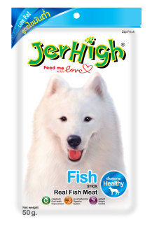 Harga JerHigh Fish Dog Treats 5packs