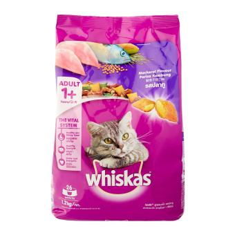 Whiskas Mackerel Dry Food for Cat - 1 x 1.2 kg