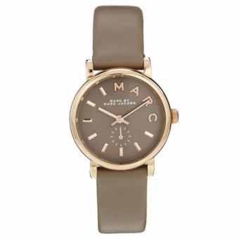Harga Marc By Marc Jacobs Mini Baker Grey Leather Watch MBM1318