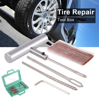 Harga Car Van Truck Tubeless Tyre Tire Puncture Repair Insert Kit with 5 Strips MA875
