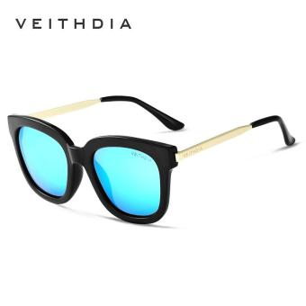 Harga VEITHDIA TR90 Women's Sun glasses Polarized Mirror Lens Luxury Ladies Designer Sunglasses Eyewear For Women 8025