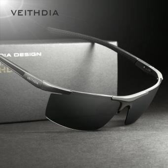 Harga VEITHDIA Aluminum Magnesium Men's Sunglasses Polarized Coating Mirror Sun Glasses oculos Male Eyewear Accessories For Men 6588
