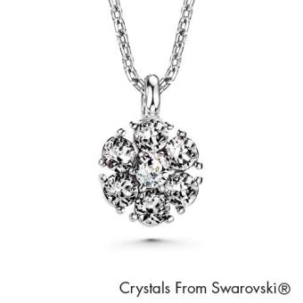 Harga Birthstone Flower Pendant April (Crystal) Crystals from Swarovski®
