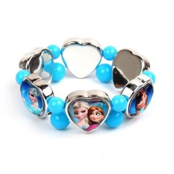 Harga Frozen cartoon anna elsa frozen princess girls pretty bracelet bracelet children's jewelry birthday gift
