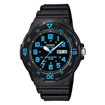 Harga CASIO Men's Black Resin Strap Watch MRW200H-2B MRW-200H-2B