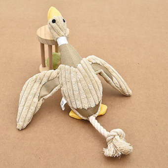 Harga Nontoxic Squeaker Toy Duck for dog Play - intl