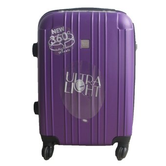 Harga Winning #379 ABS Hard Case Ultralight Luggage 20inch (Purple)
