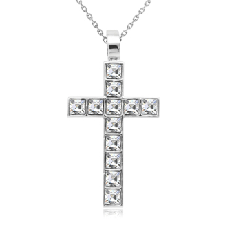 Harga Crystal Cross Pendant (Crystals from Swarovski®)