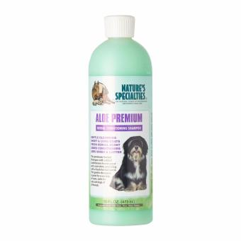 ALOE PREMIUM SHAMPOO FOR DOGS & CATS 16OZ