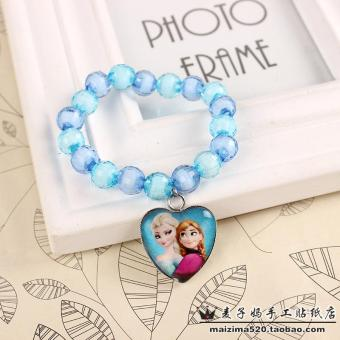 Harga Frozen elsa anna princess small chain bracelet girl jewelry children kids birthday gift