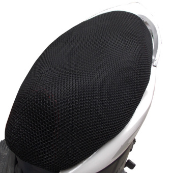 Harga Motorcycle Breathable Seat Cover (Black)