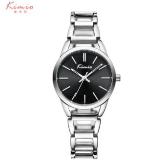 Harga 2017 Hot Selling KIMIO Brand Women's Dress Watch Ladies Luxury Fashion Bracelet Watches Steel Strap Fashion Watch Band - intl