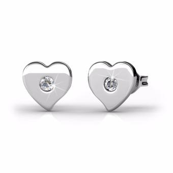 Harga Double Love Earrings - Crystals from Swarovski®