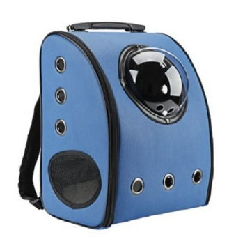 Harga Travel Bag Bubble Backpack Pet Carriers for Cats and Dogs,Blue