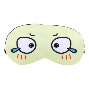 Cartoon Cooling Heating Eye Mask Soft Removable Ice Bag Eye Protection Mask- #1 - intl