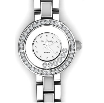Harga Crystal Watch (White) - Crystals from Swarovski®