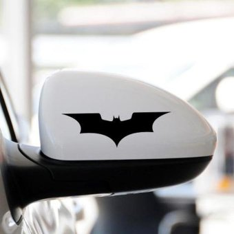 Harga Rorychen Personal Car Stickers Batman Rearview Mirror Stickers - intl