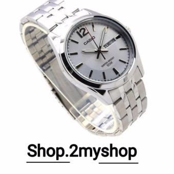 Harga CASIO LADY DAY DATE ALL STEEL LTP-1335D-7AVDF