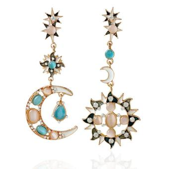 Harga WomenFahion Boheia Hot Char Rhinsetone God Jewery Earring