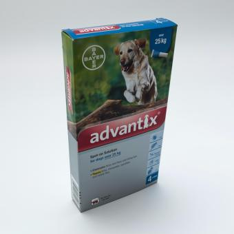Harga Advantix For Extra Large Dogs Over 55lbs(25kg), 4 doses