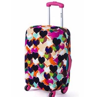 Harga Stretchable Luggage Cover (Hearts)