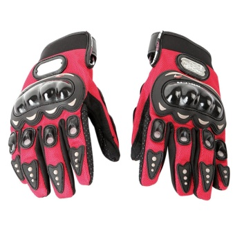 Harga Fashion Men Sports Bicycle Motorcycle Gloves Red L - Intl - intl