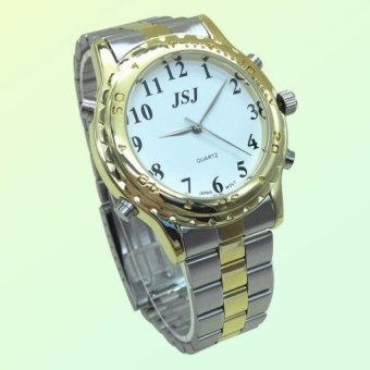 Harga English Talking Watch For The Blind And Elderly Or VisuallyImpaired People with Alarm - intl
