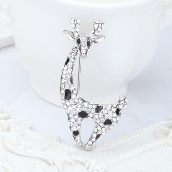 Harga Ya Bao cute full diamond brooch corsage