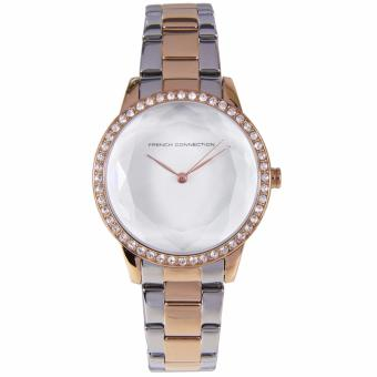 FC1215SRGM French Connection UK Two Tone Stainless Steel Female Watch