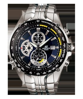 Harga Casio Men's Silver Stainless Steel Watch EF-543D-2A