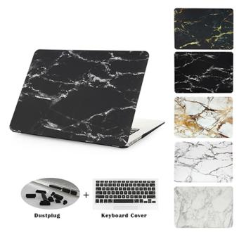 Harga JUSHENG® Pro 13 Retina A1706/A1708 3in1 MacBook Marble Plastic Hard Case with Keyboard Cover + Dust Plug for Newest Macbook Pro 13 Inch with Retina Display No CD-ROM (A1706/A1708, Oct 2016) - intl