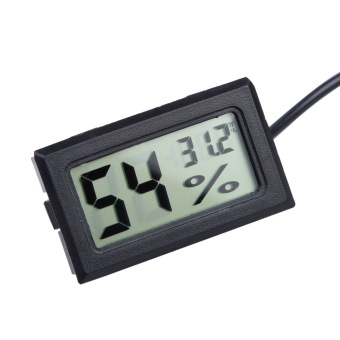 Harga LCD Digital Thermometer Humidity Hygrometer Temp Gauge Temperature Meter