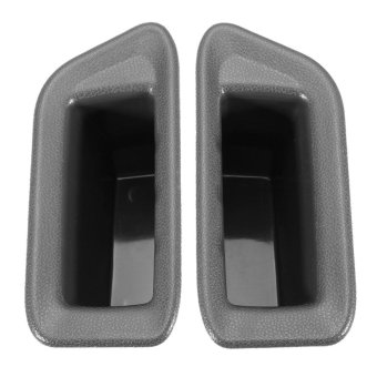 Harga 2pcs/set Door Handles Storage Box Door Armrest Glove Box Armrest Box Decoration For Ford Ecosport Auto Accessories Front Door - intl
