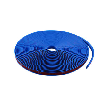 Harga Blue Car Wheel Rim Protector Tire 8M Guard Line Rubber Moulding Tuning Trend