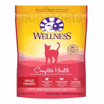 Harga Wellness Cat Complete Health - ADULT HEALTH - Salmon, Salmon Meal & Deboned Turkey Recipe 5lb 14oz (2.7kg)