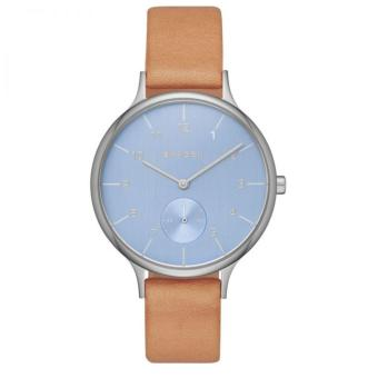 Harga Skagen Anita Light Brown Stainless Steel Watch