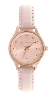 Harga Ted Baker Petite Blush Pink/Rose Gold Leather Strap
