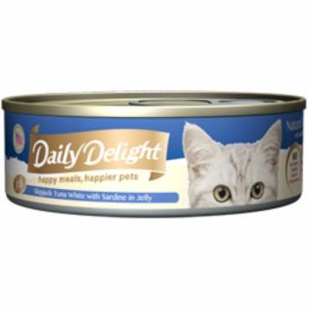 Harga Daily Delight DD53 Skipjack Tuna with Sardines in Jelly x24 Cans