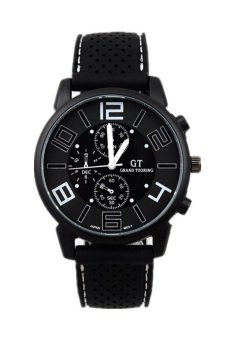Harga Sports Military Touring Quartz Brand Watch Black