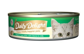 Harga Daily Delight Skipjack Tuna White with Cheese in Jelly (24 x 80g)